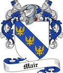 Mair Family Crest, Coat of Arms