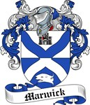 Marwick Family Crest, Coat of Arms