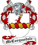 McCorquodale Family Crest, Coat of Arms