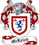 McLeish Family Crest, Coat of Arms