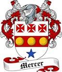 Mercer Family Crest, Coat of Arms
