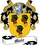 Moir Family Crest, Coat of Arms