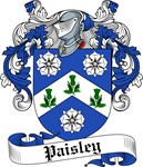 Paisley Family Crest, Coat of Arms
