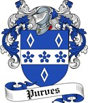 Purves Family Crest, Coat of Arms