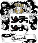 Bernard Family Crest, Coat of Arms