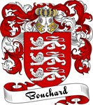 Bouchard Family Crest, Coat of Arms