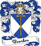 Bourdon Family Crest, Coat of Arms