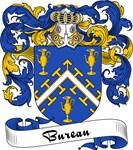 Bureau Family Crest, Coat of Arms