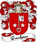 Grandjean Family Crest, Coat of Arms