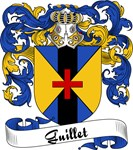Guillet Family Crest, Coat of Arms