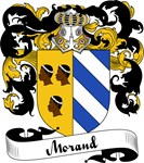 Morand Family Crest, Coat of Arms