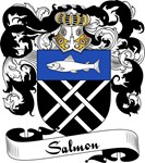 Salmon Family Crest, Coat of Arms