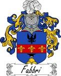 Fabbri Family Crest, Coat of Arms