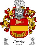 Farina Family Crest, Coat of Arms