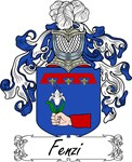 Fenzi Family Crest, Coat of Arms