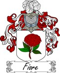 Fiore Family Crest, Coat of Arms