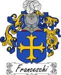 Franceschi Family Crest, Coat of Arms