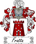 Fratta Family Crest, Coat of Arms