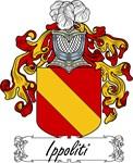 Ippoliti Family Crest, Coat of Arms