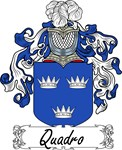 Quadro Family Crest, Coat of Arms