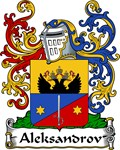 Aleksandrov Family Crest, Coat of Arms