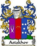 Astakhov Family Crest, Coat of Arms