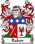Rakov Family Crest, Coat of Arms