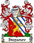 Stepanov Family Crest, Coat of Arms