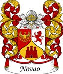 Novao Family Crest, Coat of Arms