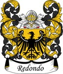 Redondo Family Crest, Coat of Arms