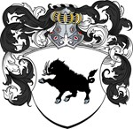 Bors Family Crest, Coat of Arms