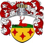Hartman Family Crest, Coat of Arms