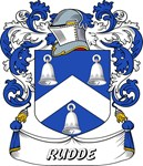 Rudde Coat of Arms, Family Crest