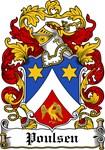 Poulsen Coat of Arms, Family Crest