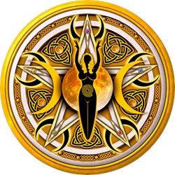 Pentacle of the Yellow Goddess