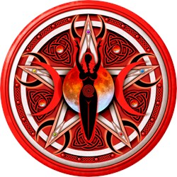 Pentacle of the Red Goddess