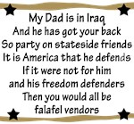 My Daddys Got Your Back!