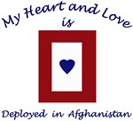 My Heart and Love is deployed in Afghanistan