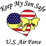 Air Force Mom & Dad - Keep My Son Safe