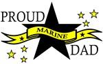 Proud Marine Dad with Hero Poem