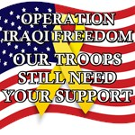 OIF - Our troops still need your support