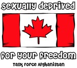 Sexually Deprived for Your Freedom - Canada Forces