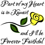 Part of my Heart is in Kuwait Forever Faithful
