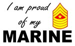 Proud of my Marine - Sergeant Major E9