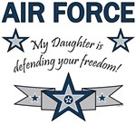 My Daughter is defending your freedom!