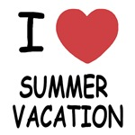 I heart summer vacation