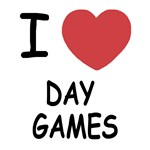 I heart day games