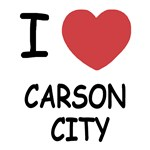 I heart carson city