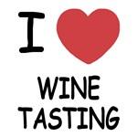 I heart wine tasting