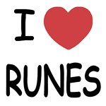 I heart runes